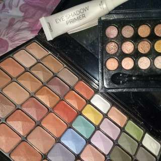 Take All !!!  (F21 Eyeshadow Set, Careline Pocket Eyeshadow,Detail Makeover Eyeshadow Primer)