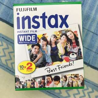 Fujifilm instax wide film (20pcs)