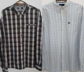 ASPACK Authentic FRED PERRY longsleeve button down
