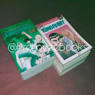 Komik New Kungfu Boy, vol 1 - 20, karya Takeshi Maekawa