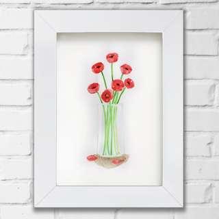 "Watercolor Painting ""Flower"""