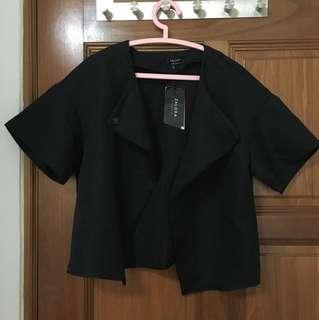 BNWT black cape jacket