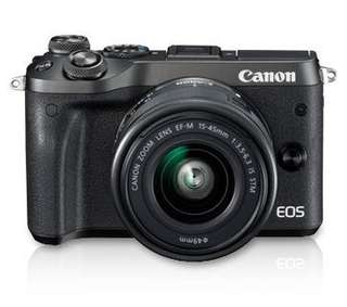 Canon EOS M6 Kit (EF-M15-45 IS STM)