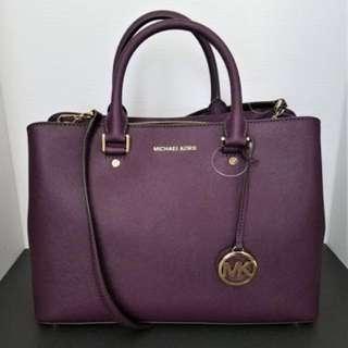 MICHAEL KORS Savannah Satchel Large Handbag