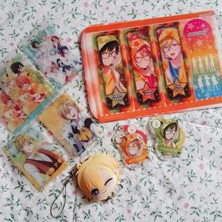 [WTS] Idolish7 Yamato Mitsuki Nagi strap * cards * bookmark grab set