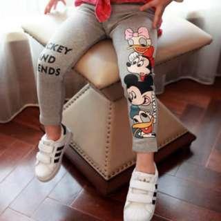 94640 Korean Children Cartoon Printing Leggings