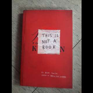 This Is Not A Book (by Keri Smith)