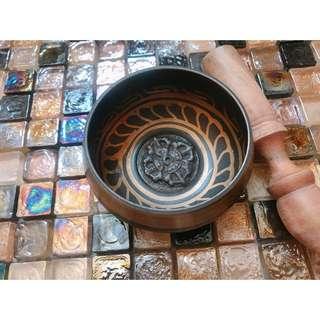 Tibet Nepal handmade singing bowl devotional meditation sound therapy 西藏尼泊爾六字真言手工頌鉢 靈修 冥想 聲音治療 舒緩減壓 喜瑪拉雅