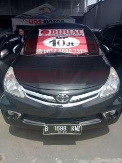 Toyota Avanza G AT 2012