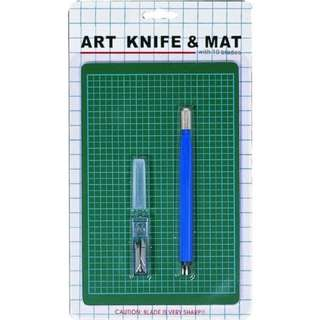 Art Knife & Cutting Mat Combo