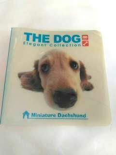 THE DOG CD/DVD/VCD/光碟 儲存簿 收納套 可存12碟