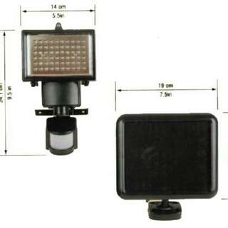 60 LED Solar Sensor Security Light