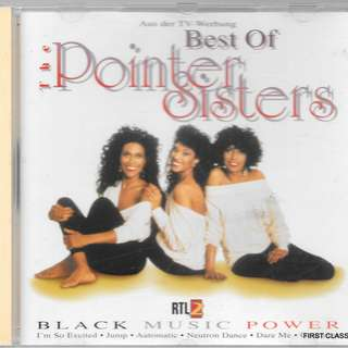 MY PRELOVED CD -BEST OF POINTER SISTERS /FREE DELIVERY (F7H))