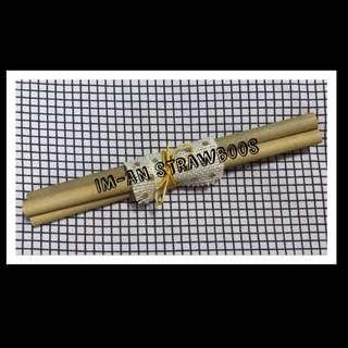 Strawboos (Bamboo Straws)