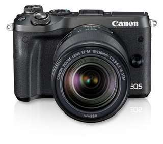 Canon EOS M6 Kit (EF-M18-150 IS STM)