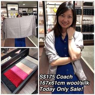 Coach scarves