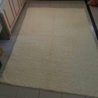 Faux fur plush Carpet 60x78inches