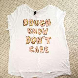 H&M oversize white t-shirt