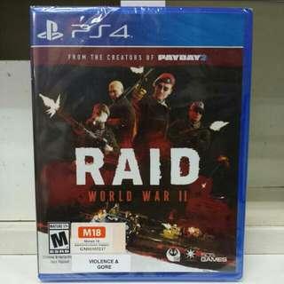 PS4 Raid World War II