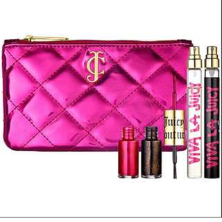 Juicy couture makeup pouch / clutch