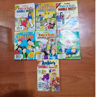 Archies Pals N Gals Double Digest Comic Books