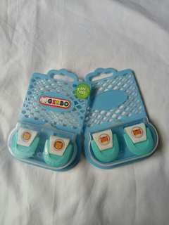 Gerbo diaper clamps