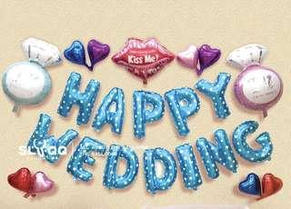 Happy wedding decor DIY