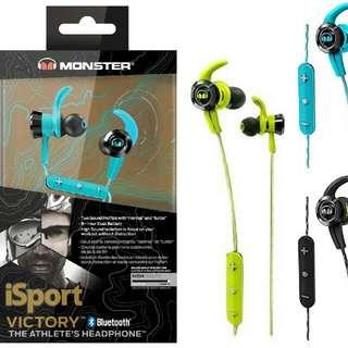 Monster iSport Victory Bluetooth In-Ear Headphones