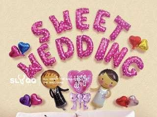 Sweet wedding DIY decor pack