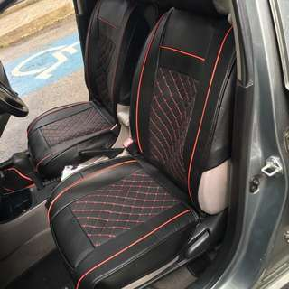 Vios pu leather seat cover (universal)