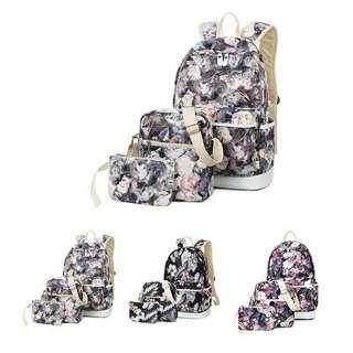 floral Back pack