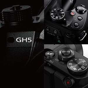 Panasonic DC GH-5 Body / Panasonic DC GH-5 with 12-60mm kit lens / Panasonic DC GH-5 L kit with 12-35mm kit lens