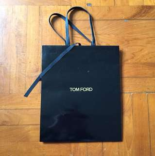 TOM Ford paper bag