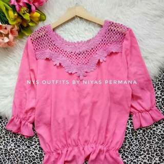Blouse lace