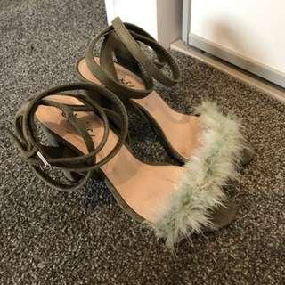 Lamoda Fluffy Heels