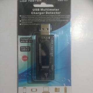 USB 電壓電流測試器 current tester
