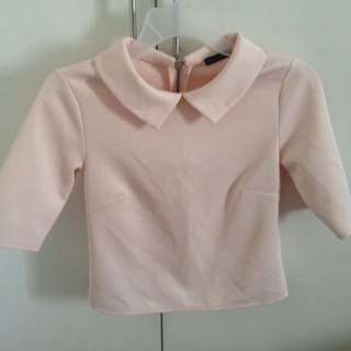 Zara - Blush Top