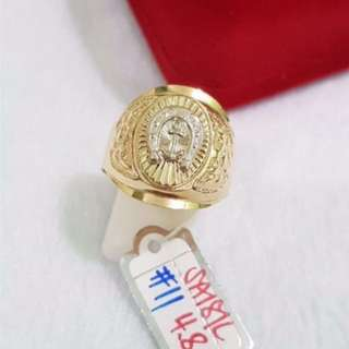 18k SD GOLD MEN'S RING