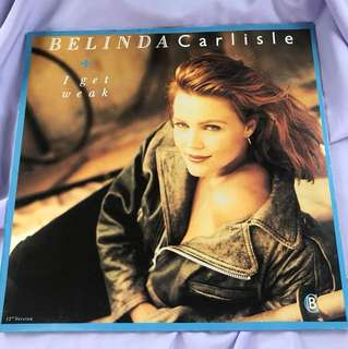 "Belinda Carlisle -  I Get Weak 12"" Single"