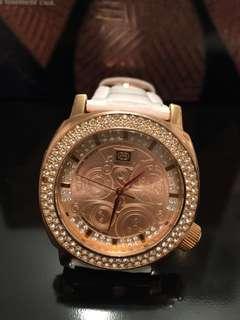 Marc Ecko leather Watch