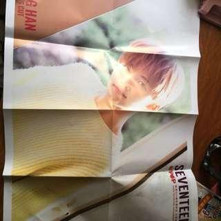 Jeonghan poster (folded)