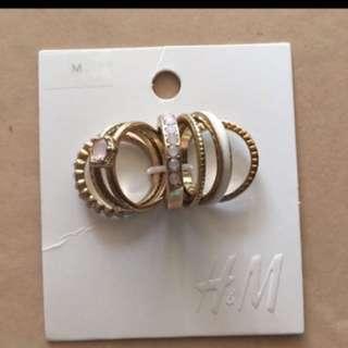 H&M rings (SALE)