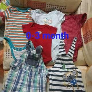 Baby bundle rompers