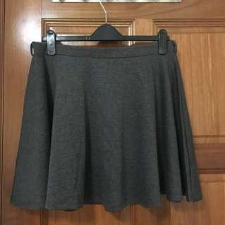 Grey skater skirt in uk16