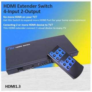 HDMI Extender switch