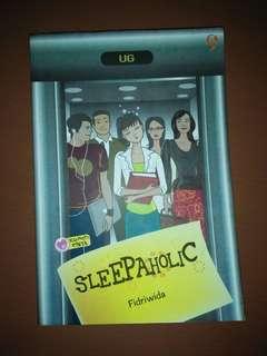 Novel Teenlit Sleepaholic [4 item novel 25k]