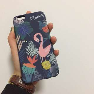 火烈鳥iPhone Case