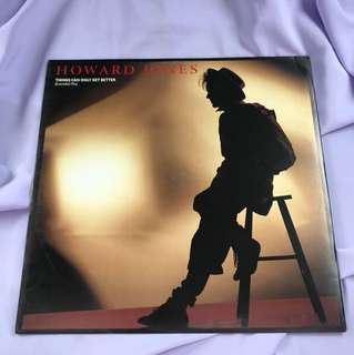 "Howard Jones - Things Can Only Get Better 12"" Single"