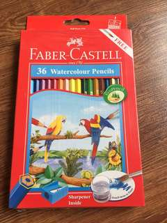 Faber-Castell 36 Watercolour pencils