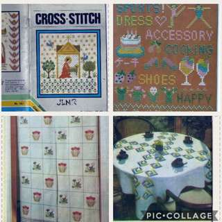Cross-Stitch Dhingra Book Pattern 32 Designs in Black and White only